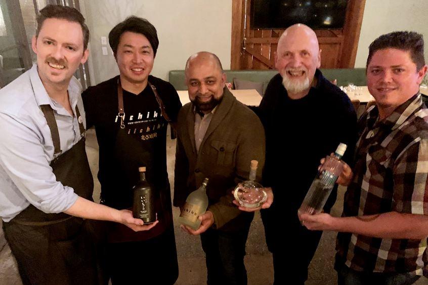 麹文化の酒「焼酎」をアメリカへ